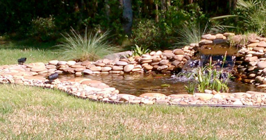 Decorative ponds atlantic poly liners for Ornamental pond liners